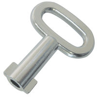 Latch And Lock Key - Material - Zinc Alloy ; Key Type - 7.0 mm Triangle ;  ; Finish - Chrome Plated