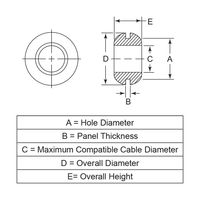 P110590_Open-Grommets-Hole-Grommets_PLD1 | Essentra Components CA