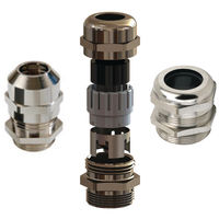 Cable Glands Straight Brass | Essentra Components