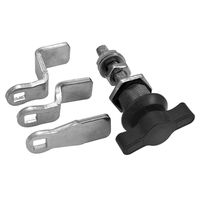 Compression Cam Latch - Housing Height - 32.0 mm | 1.26 in ; Maximum Grip - 22.0 mm | 0.866 in ; Key Type - Key CH751 ; Special Features - Fixed Compression Latch