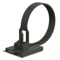 Mounting Cable Ties - Adhesive Mount