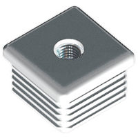Square Glide - Fitting Style - Push Fit ; Material - HDPE With Metal Insert