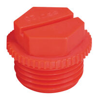 UNF Threaded Protection Plug UNF Compatible Thread Sizes - 5/8-18 Fully Threaded