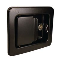 Paddle Latch - Overall Length: 140.0 mm | 5.512 in ;  ; Overall Width: 110.0 mm | 4.331 in ;