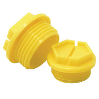 Slottex Plug - Compatible Thread Standard - UNF  Compatible Thread Sizes - 7/8-14  Head Type - Opened