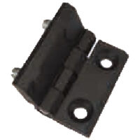Free Swinging Hinge - Overall Length - 40.0 mm   1.575 in ; Overall Width - 40.0 mm   1.575 in ; Overall Thickness - 9.0 mm   0.354 in ; Number of Mounting Holes - 2