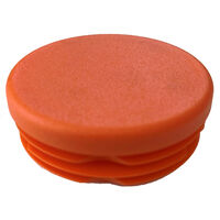 Round Tube Inserts - 47.6 mm | 1.874 in  Material - LDPE ; Colour - Orange