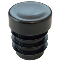 Round Tube Inserts - 22.2 mm | 0.874 in  Material - LDPE ; Colour - Black