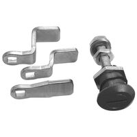 Compression Cam Latch - Finish: Chrome Plated ; Minimum Grip - 11.0 mm | 0.433 in ; Maximum Grip - 29.0 mm | 1.142 in ; Latch Style - Deep