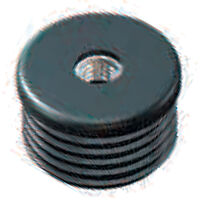 Round Threaded Inserts - Metal - Compatible Outside Tube Diameter - 38.0 mm | 1.496 in ; Insert Height - 20.0 mm | 0.787 in