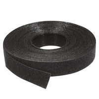 Economy Hook & Loop Roll - Black ; LDPE;Nylon ; Overall Length 22.9 m | 75 ft ; Overall Width 12.7 mm | 0.500 in