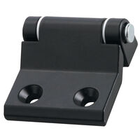 90 Degree Offset Corner Hinge - Overall Length - 10.0 mm | 0.394 in ; Overall Width - 45.0 mm | 1.772 in