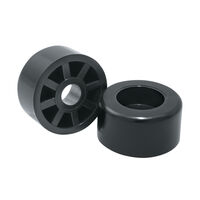 Screw-On Feet - Overall Diameter - 12.7 mm | 0.500 in ;  ; Material - Nylon ; Colour : Natural