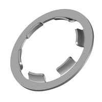 Fixing Ring - Overall Depth - 3.5 mm | 0.138 in ; Material - Spring Steel ; Outside Diameter - 33.0 mm | 1.299 in