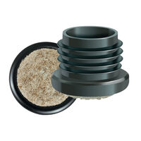 Round Inserts & Glides - Felt Base - Maximum Compatible Wall Thickness - 2.0 mm | 0.079 in ; Material - Nylon