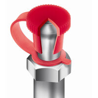 Grease Nipple Cap - Inside Diameter 6.0 mm | 0.236 in ; Washer Hole Diameter 6.4 mm | 0.252 in ; Strap Length 29.5 mm | 1.161 in