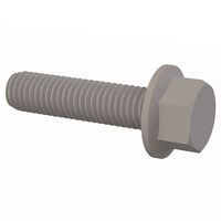 Natural PU Socket Part Threaded Cap Screw - 1/2-13; Thread Length 50.8 mm | 2.000 in; Distance Across Flats 19.1 mm | 0.750 in; Head Height 13 mm | 0.510 in