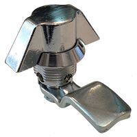 Knob Latch - Maximum Grip - 8.0 mm | 0.315 in ; Latch Material: Die Cast Zinc Alloy ;  ; Handle Type: Wing Knob