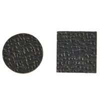 Self Adhesive Feet - Base Diameter - 19.1 mm | 0.750 in ; Base Height - 1.6 mm | 0.062 in ; Colour - Black ; Material - PE Foam ; Quantity Per Pad1000