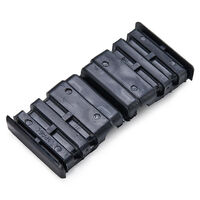 Rectangular Glide - Maximum Compatible Wall Thickness - 1.5 mm | 0.059 in ; M8 ; Insert Height 41.0 mm | 1.614 in; Black; Nylon