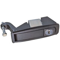 Paddle Latch - Overall Length: 109.0 mm | 4.291 in ;  ; Overall Width: 35.0 mm | 1.378 in ;