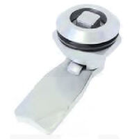 Key Latch - Maximum Grip - 24.5 mm | 0.965 in ; Grip Length - 24.5 mm | 0.965 in ; Key Type:3 mm Double Bit ; Finish - Chrome Plated