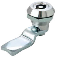 Key Latch - Maximum Grip - 26.5 mm | 1.043 in ; Grip Length - 26.5 mm | 1.043 in ; Key Type:8 mm Triangle ; Finish - Chrome Plated