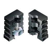 Square Glide - Fitting Style - Push Fit ; Material - Nylon With Metal Thread