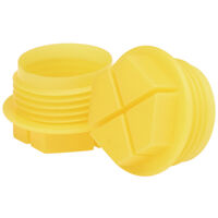Slottex Plug - Compatible Thread Standard - BSP<multisep/>GAS  Compatible Thread Sizes - 3/8-19  Head Type - Closed