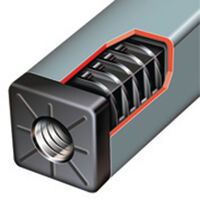 Rectangular Glide - Compatible Tube Gauge - 1.5 mm ; Fitting Style - Push Fit