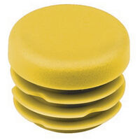Round Tube Inserts - 18.0 mm | 0.709 in  Material - LDPE ; Colour - Yellow