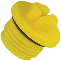 UNF Threaded O-Ring Plug - Compatible Thread Standard - UNF ; Compatible Thread Sizes -  1/16 ; Push Fit