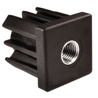 Square Glide - Fitting Style - Push Fit ; Material - Nylon With Nickel Plated Brass Insert