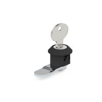 Key Latch - Housing Height - 11.0 mm | 0.433 in ; Key Type:Keyed Different SS Shutter ; Cam Length - 16.0 mm | 0.63 in ; Finish - No Finish