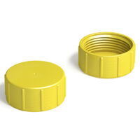 Metric Threaded Protection Cap Compatible Thread Sizes M52 x 1.5 Threaded Height 17.0 mm | 0.669 in Overall Diameter 59.0 mm | 2.323 in