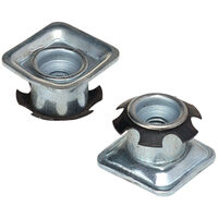 Square Glide - Fitting Style - Push Fit ; Material - Steel