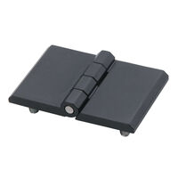 Free Swinging Hinge - Overall Length - 60.0 mm | 2.362 in ; Overall Width - 120.0 mm | 4.724 in ; Overall Thickness - 15.0 mm | 0.591 in ; Material - Die Cast Zinc Alloy