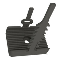 Wire Clip - Adhesive/Screw Mount, Adjustable, Rubber | Essentra Components