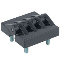 Stand Off Hinge - Overall Width - 64.0 mm   2.52 in; Overall Length - 64.0 mm   2.52 in; Mounting Method - Pin; Number of Mounting Holes - 0