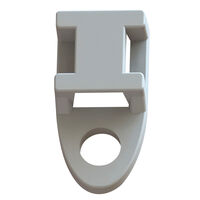 Cable Tie Mounts - Screw Mount, Low Profile, Four Way   Essentra Components