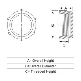 Threaded Protection Caps - Metric Threads | Essentra Components DE